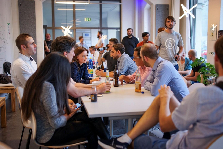 Stammtisch der Startupszene